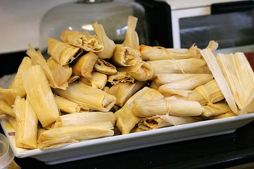 Pile of Tamales