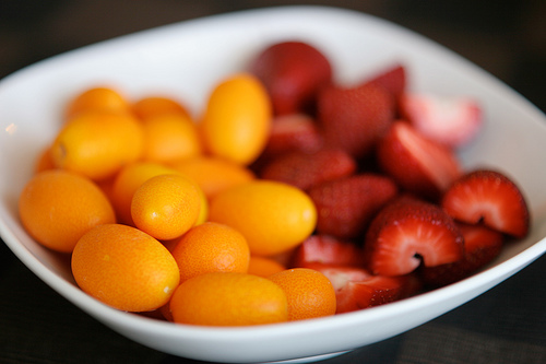 Kumquats & Strawberries