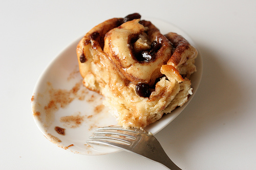Rum Raisin Cinnamon Rolls