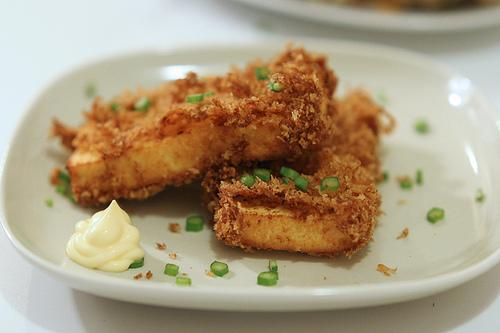 Angry Tofu Strips!