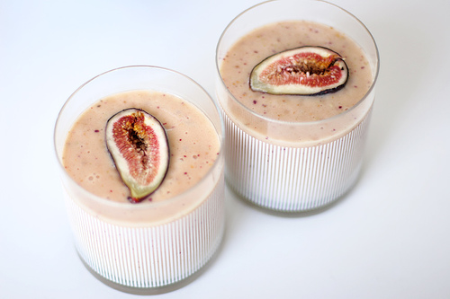 Fig & Banana Smoothies