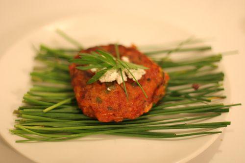 Herbed Tomato Croquette