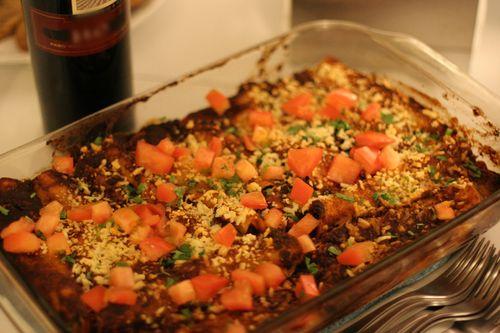 Tatuma Enchiladas with Mole