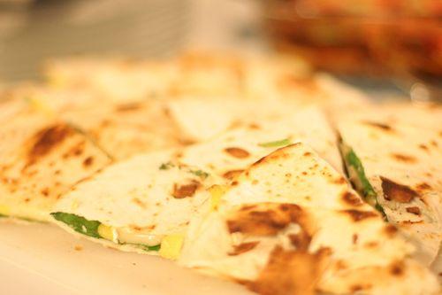 Mango & Brie Quesadillas