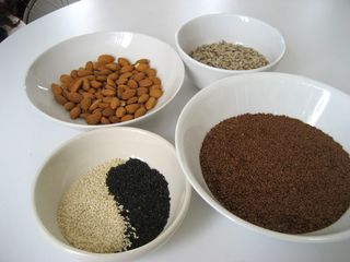 Flax Cracker Ingredients