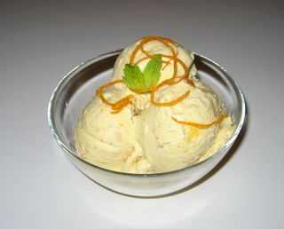 Orange Banana Ice Cream